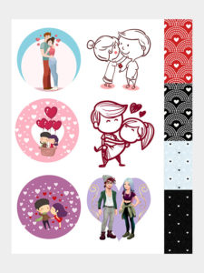 love cute stickers store