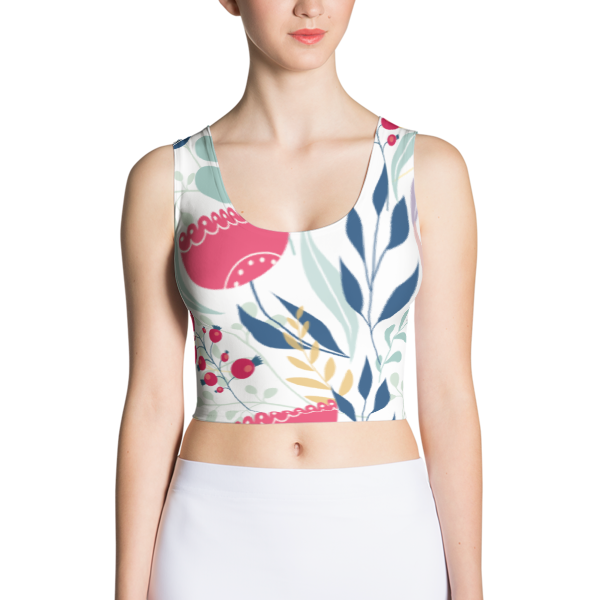 Colorful Earthy Crop Top