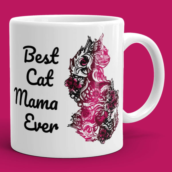Best Cat Mama Ever Mug - Cat Mom Mug