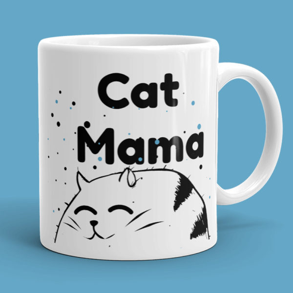 cat mama mug for cat lovers christmas mug gift cute