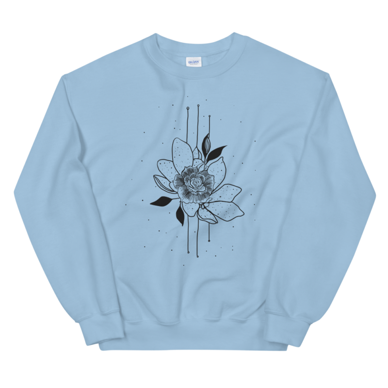 Bearded iris flower Sweatshirt For Women